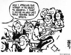 'Calvin and Hobbes' Creator Bill Watterson's College Comics