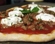 Homemade Spicy Sausage and Ricotta Pizza Recipe