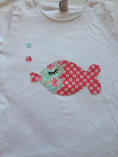 Petit Atelier de Juliette: Camisetas con aplicaciones