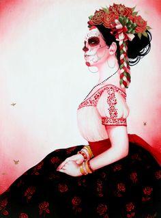 """""""las adelitas"""" by sylvia ji (día de los muertos)"""