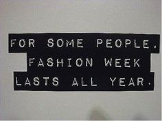 Eternal Fashion Week