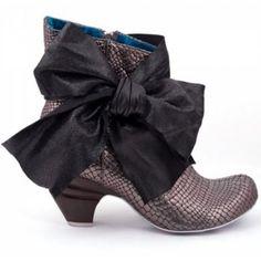 Irregular choice boots.