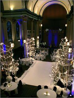 @Kara Zupanovich  winter white weddings at the priory!
