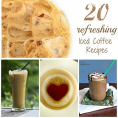 coffe recip, top 20, refresh ice, food, iced coffee recipes, drink, 20 refresh, ice coffe, beverag