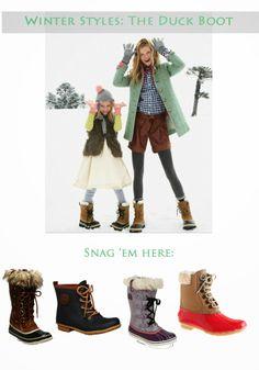 short, winter style, ducks, fur, fallwint, duck boot, boots