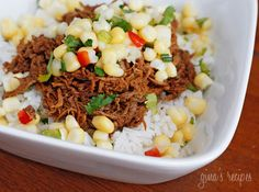 Barbacoa Beef - #lowcarb #beef #spicy #salsa
