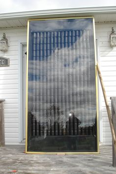 Energy solar hot air on pinterest pop cans solar panels and aluminum cans - How to make a solar panel out of soda cans ...