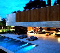 Ipes House by Marcio Kogan, MK 27