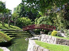 Bridge, Jardin Albert Kahn