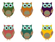 FREE OWL CLIP ART FOR TEACHERS: FALL COLORS