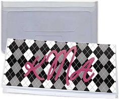 "Checkbook Cover  Duplicate Check Flap  Insert Size: 6"" x 3""  $0.65"
