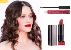 The best lip colors for brown hair