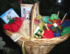 Project Basket Ornament #DIY #craft #howto #crafts #Christmas #tree #ornament #ornaments #sewing #knitting #crochet #gift #gifts