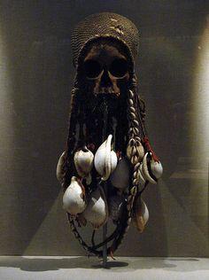 Skull Reliquary (19th Century)    Gulf of Papua
