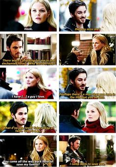 Once Upon a Time. Emma and Hook