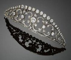 19th Century Diamond Tiara