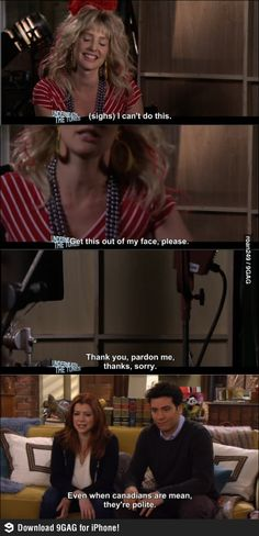 Robin Sparkles politely mean