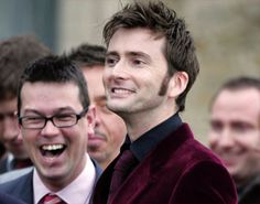 David Tennant at Billie Piper's wedding.    okay this is too cute I can't handle it