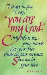 You are my God♥