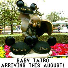 Our Disney Pregnancy Announcement #2