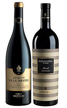 Tried the Striped bottle of Barolo recently, it was great.