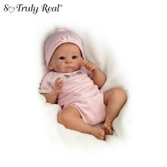 Amazon.com: Baby Doll: Little Peanut Baby Doll by Ashton Drake: Toys & Games