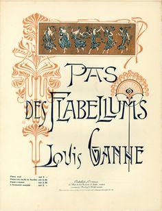Pays des Flabellums, 1899 (ill.: E D (monogram)); ref. 6825