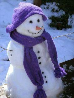 Purpled! Snowman