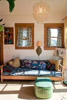 bohemian hippie room via leela cyd