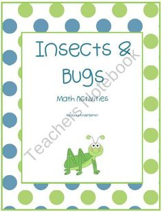 Insects & Bugs Differentiated Math Activities from KookyKindergarten on TeachersNotebook.com (30 pages)  - This pack includes several differentiated math activities with an Insect/Bug theme.