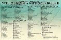 Natural Remedy Reference Guide II