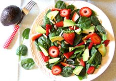ValSoCal: Strawberry Avocado Salad