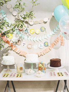 paper garlands, 100 layer, birthday banners, kid birthdays, first birthdays, layer cakelet, 1st birthdays, parties kids, kid birthday parties
