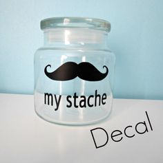 My Stache decal