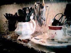 antique flatware