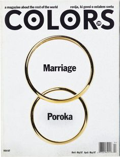 Colors Magazine - Marriage