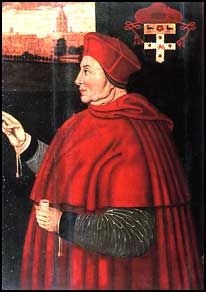 Cardinal Thomas Wolsey - Minister to King Hnery VIII. Wolsey was a very competent advisor but became embroiled in the King's divorce from Katherine of Aragon. The King turned against him and he would have probably been executed, but died before he could be arrested. Anne Boelyn hated him and took his magnificent residence after he fell from favor.
