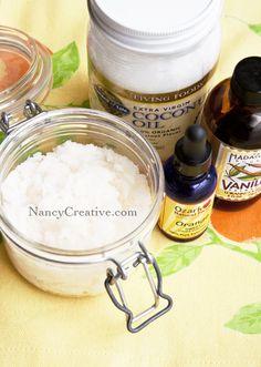 Orange Vanilla Coconut Scrub