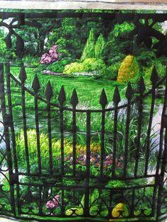 Lovely landscape quilt