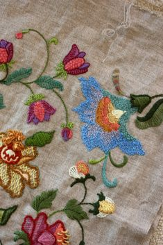 More crewel embroidery