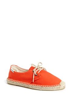 Soludos 'Derby' Canvas Espadrille Sneaker (Women) available at #Nordstrom