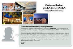 What do the guests say about Villa Michaela (Choeng Mon, Koh Samui)?