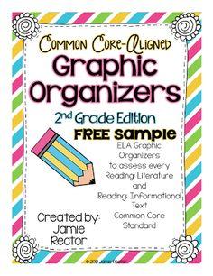 2nd Grade Stuff: Common Core Graphic Organizers: New Look!