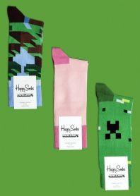 Minecraft socks!