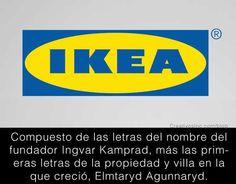 Significado logo IKEA
