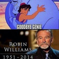Good bye Genie