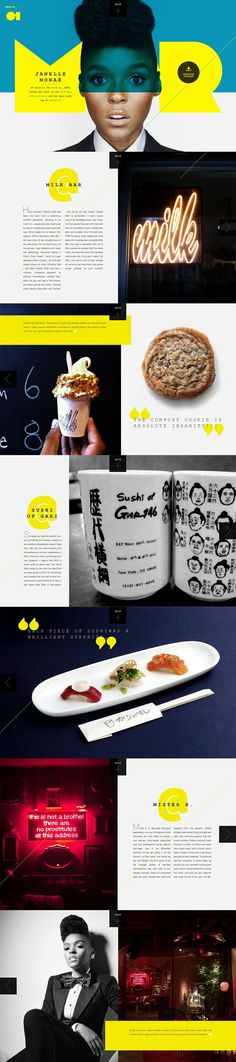 webdesign, color design, web design, magazin spread, colors, janell mona, awesom websit, magazine spreads, public design