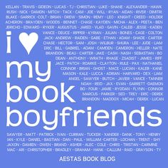 I love my book boyfriends