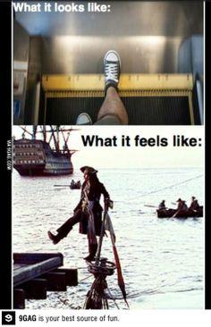 Escalators: Every damn time
