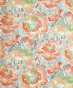 Spring Poppy C Tana Lawn, Liberty Art Fabrics.